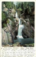 Tátra giant waterfall