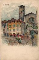 Como, cathedral, litho s: Manuel Wielandt (EK)