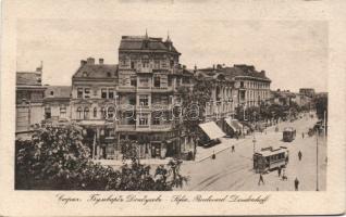 Sofia, Boulevard Dondoukoff, trams