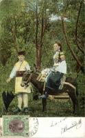 Bulgarian folklore, donkey, Bolgár folklór, szamár
