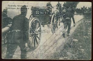 K.u.K artillery, WWI, K.u.K. tűzérség felvonulása, VH I.