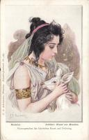 Beatrice from Schiller´s The Bride of Messina s: F.B. Doubek