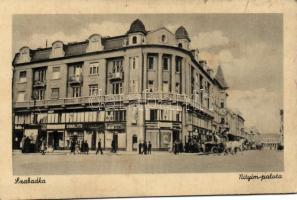 Subotica, palace, shop, Szabadka, Nityim palota, Sibalits üzlete
