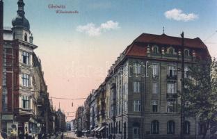 Gliwice, Gleiwitz; Wilhelmstrasse / street