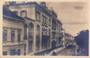 Belgrade, Université / university, Hotel Imperial, tram