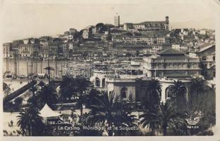 Cannes, Casino Municipal et le Suquet