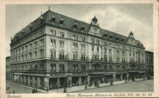 Budapest VII. Hotel Metropole (EB)