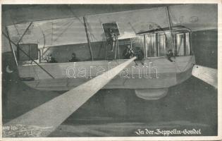 In der Zeppelin Gondel / military zeppelin