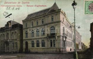 Sofia, Banque d'agriculture / agricultural bank