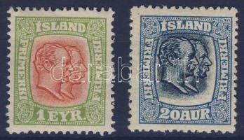1915 IX. Krisztián és VIII. Frigyes király Mi 76 + 82
