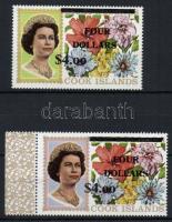 1970 Virágok sor Mi 254 x-255 x