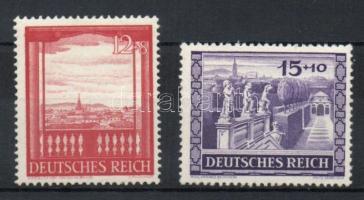 1941 Belvedere, Bécs sor Mi 804-805