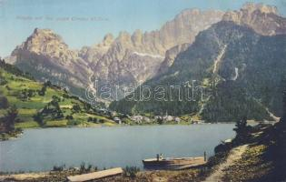 Alleghe, Civetta / mountain, lake, boat