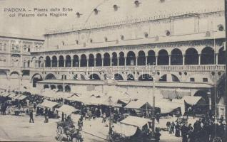 Padova, Piazza delle Erbe, Palazzo della Ragione / square, palace, market place
