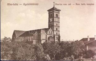 Alba Iulia, Biserica rom. cat.  / church, Gyulafehérvár, Római katolikus templom