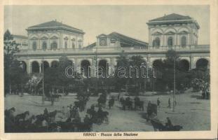 Naples, Napoli; Piazza della Stazione / square, railway station