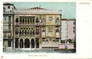 Venice, Venezia; Palazzo Ca d´Oro / palace
