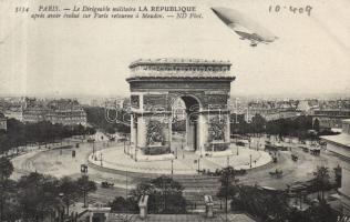 Paris, Lebaudy République, trams