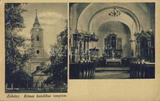 Zákány, Katolikus templom, belső