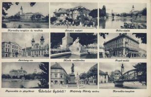 Győr Royal Szálló, Sétatéri Mulató és papnevelde, Széchenyi tér