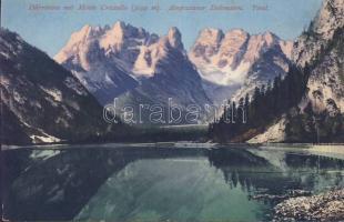Dürrensee (Lago di Landro), Monte Cristallo