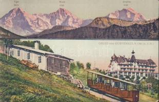 Bern, Gurten, Hotel Gurten Kulm, funicular
