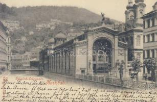 1898 Karlovy Vary, Karlsbad; Sprudel Colonnade
