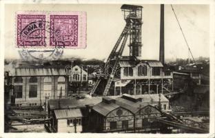 Ostrava-Vítkovice, Mährische Ostrau-Witkowitz; Jama Hlubina / Tiefbauschacht / iron works