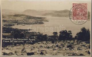Mount Nelson, Hobart and Derwent River