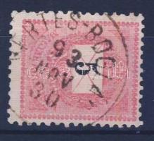 1889 5kr VÉRTES - BOGLÁR