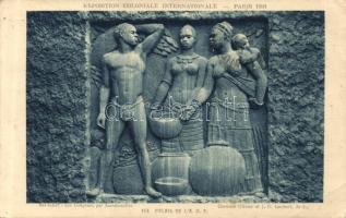 1931 Paris International Colonial Exhibition, Palais de L'A O.F. So. Stpl
