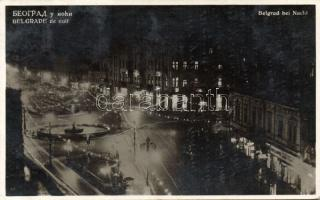 Belgrade at night