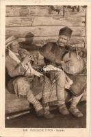 Russische Typen, Tartaren / Russian folklore, Tartars, Orosz folklór, tatárok