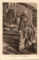 Russische Typen, Bauern / Russian folklore, peasants, Orosz folklór, földművesek