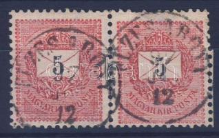 1889 5kr pár FÜZES ABONY