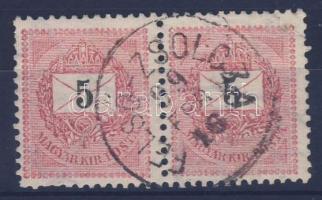 1898 5kr pár FELSŐ-ZSOLCZA