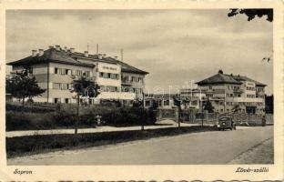Sopron, Lövér szálló, automobile (EK)