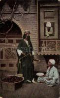 Arabian folklore, date merchant, Arab folklór, datolya árus