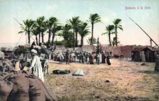Bedouin folklore, market place, Beduin folklór, vásár