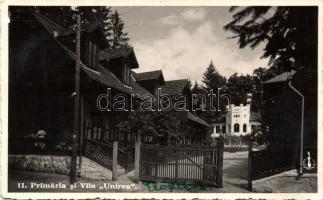 Valcele, Primaria, Villa Unirea / town hall, villa, Előpatak, Városháza, Unió villa