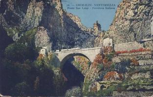 Grimaldi - Ventimiglia, San Luigi bridge