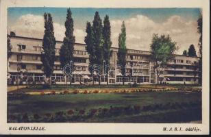 Balatonlelle, M.A.B.I. üdülője