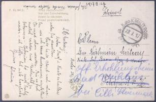 1917 Tábori lap Boszniából MP BRCKO