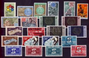 International Labor Organization 12 diff. countries, 22 various stamp, Nemzetközi Munkaügyi Szervezet 12 klf ország, 22 klf bélyeg, Internationale Arbeitsorganisation 12 verschiedene Länder, 22 verschiedene Marken