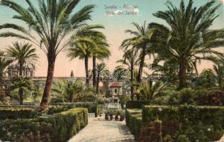 Sevilla Alcázar garden (pinhole)