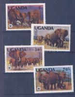 WWF African elephant set, WWF Afrikai elefánt sor, WWF Afrikanischer Elefant Satz