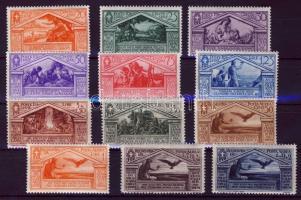 1930 Vergilius Mi 346-357 (a legkisebb érték hiányzik / 15c missing)