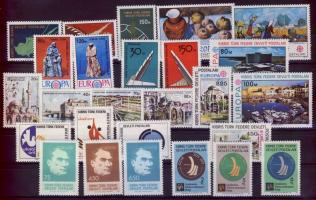 1975-1979 26 various stamps, 1975-1979 26 klf bélyeg, 1975-1979 26 verschiedene Marken