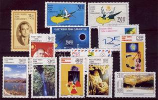 1999-2001 13 various stamps, 1999-2001 13 klf bélyeg, 1999-2001 13 verschiedene Marken