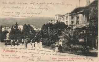 Abbazia, Hotel Stephanie Dependence Nr. I.